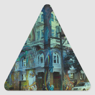 Adesivo Triangular Bilding San Francisco