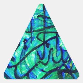 Adesivo Triangular Bismillah
