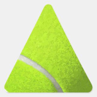Adesivo Triangular Bola de tênis