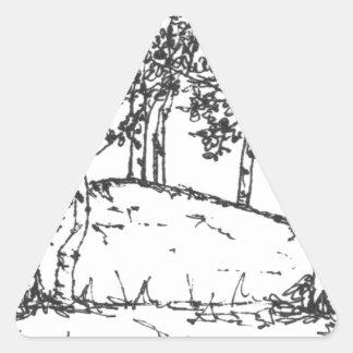 Adesivo Triangular Bosque de Aspen