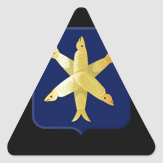 Adesivo Triangular Brasão de Zandvoort