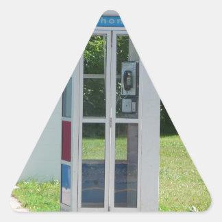 Adesivo Triangular Cabine de telefone