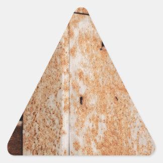 Adesivo Triangular Caixa postal oxidada fora
