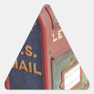 Adesivo Triangular Caixa postal velha
