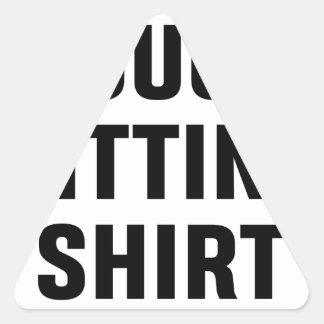 Adesivo Triangular Camisa de assento do sofá