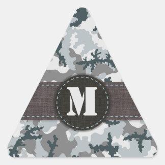 Adesivo Triangular Camuflagem urbana