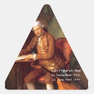 Adesivo Triangular Carl Friedrich Abel