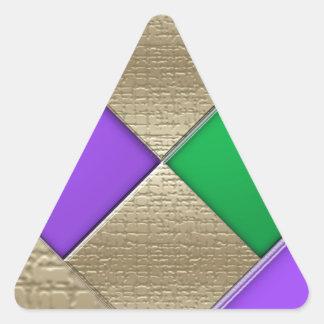 Adesivo Triangular Carnaval