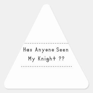 Adesivo Triangular Cavaleiro