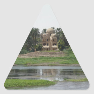 Adesivo Triangular Cena de Nile do rio