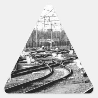 Adesivo Triangular Cerca a maneira
