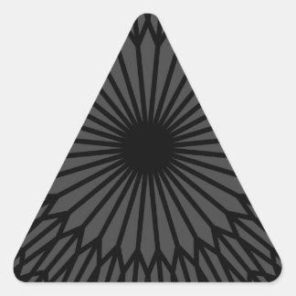 Adesivo Triangular Chakra escuro