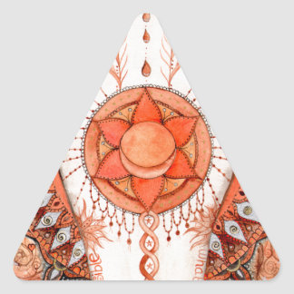Adesivo Triangular Chakra sacral