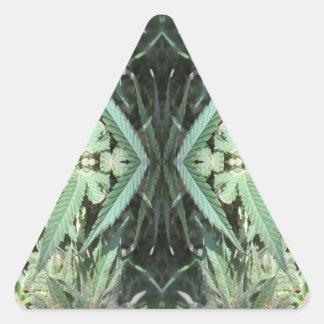 Adesivo Triangular Chamas 2 do cristal