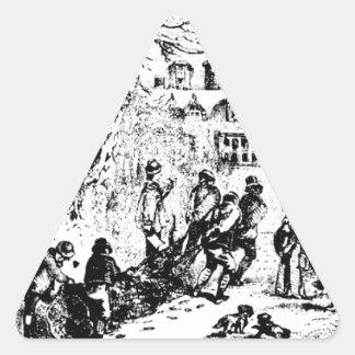 Adesivo Triangular Chambers_Yule_Log