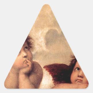 Adesivo Triangular Cherubim - Raphael