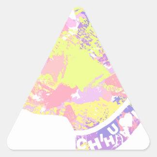 Adesivo Triangular Chihuahua