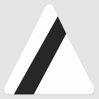 Adesivo Triangular Codifique a ruptura