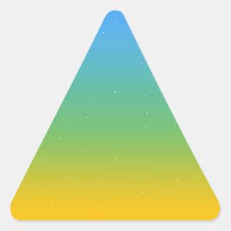 Adesivo Triangular Colorfull