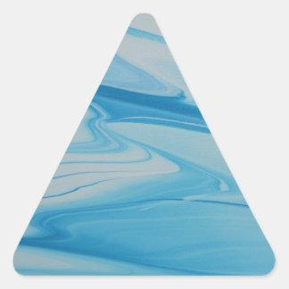 Adesivo Triangular Córrego de jato