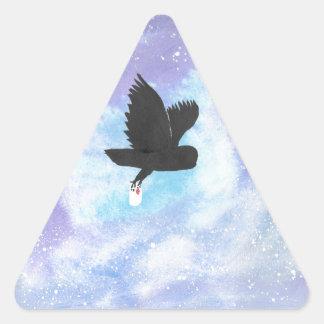Adesivo Triangular Coruja do correio