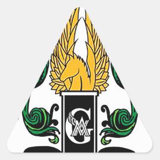 Adesivo Triangular Crista média dos guardiães de Not'Cho