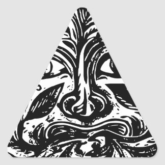 Adesivo Triangular cultura