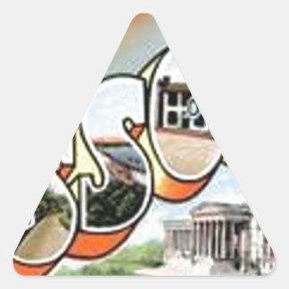 Adesivo Triangular Cumprimentos de Missouri