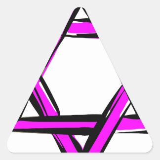 Adesivo Triangular david