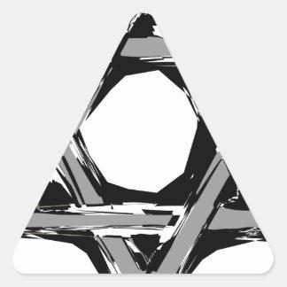 Adesivo Triangular david3