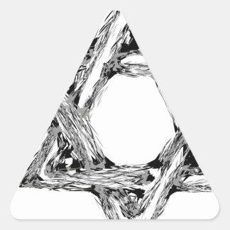 Adesivo Triangular david4