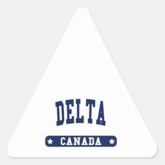 Adesivo Triangular Delta