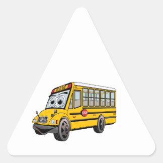 Adesivo Triangular Desenhos animados 2017 do auto escolar