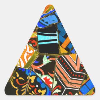 Adesivo Triangular Design abstrato