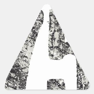 Adesivo Triangular design de San Francisco