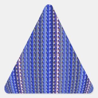 Adesivo Triangular Design geométrico roxo colorido brilhante mega