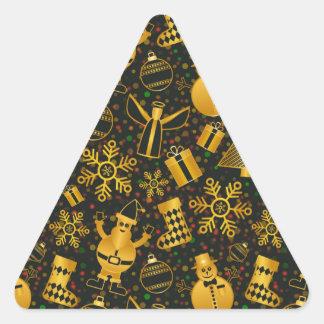 Adesivo Triangular design novo do Natal