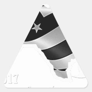 Adesivo Triangular Design txt.gif branco de Harvey