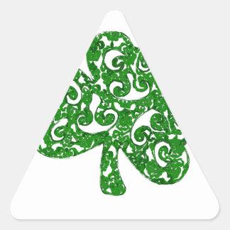Adesivo Triangular Dia de São Patrício