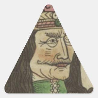 Adesivo Triangular Die_geschicht_dracole_waide
