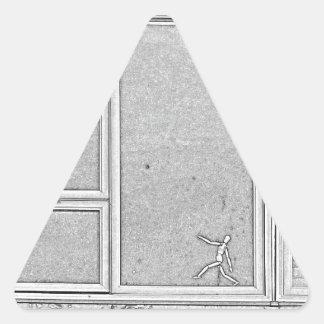 Adesivo Triangular dimensão