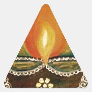 Adesivo Triangular diya iluminado