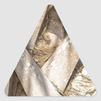 Adesivo Triangular Do abstrato ascendente próximo do detalhe da