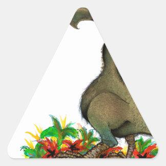 Adesivo Triangular dodo do amor dos fernandes tony