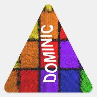 ADESIVO TRIANGULAR DOMINIC