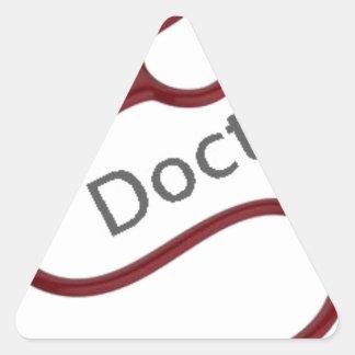 Adesivo Triangular Doutor futuro Dr.