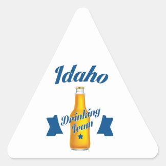 Adesivo Triangular Equipe do bebendo de Idaho