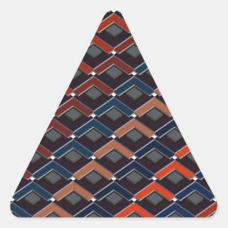 Adesivo Triangular Escadas no teste padrão Altona das escadas