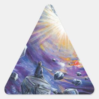 Adesivo Triangular Espaço