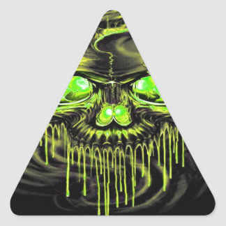 Adesivo Triangular Esqueletos lustrosos de Yella